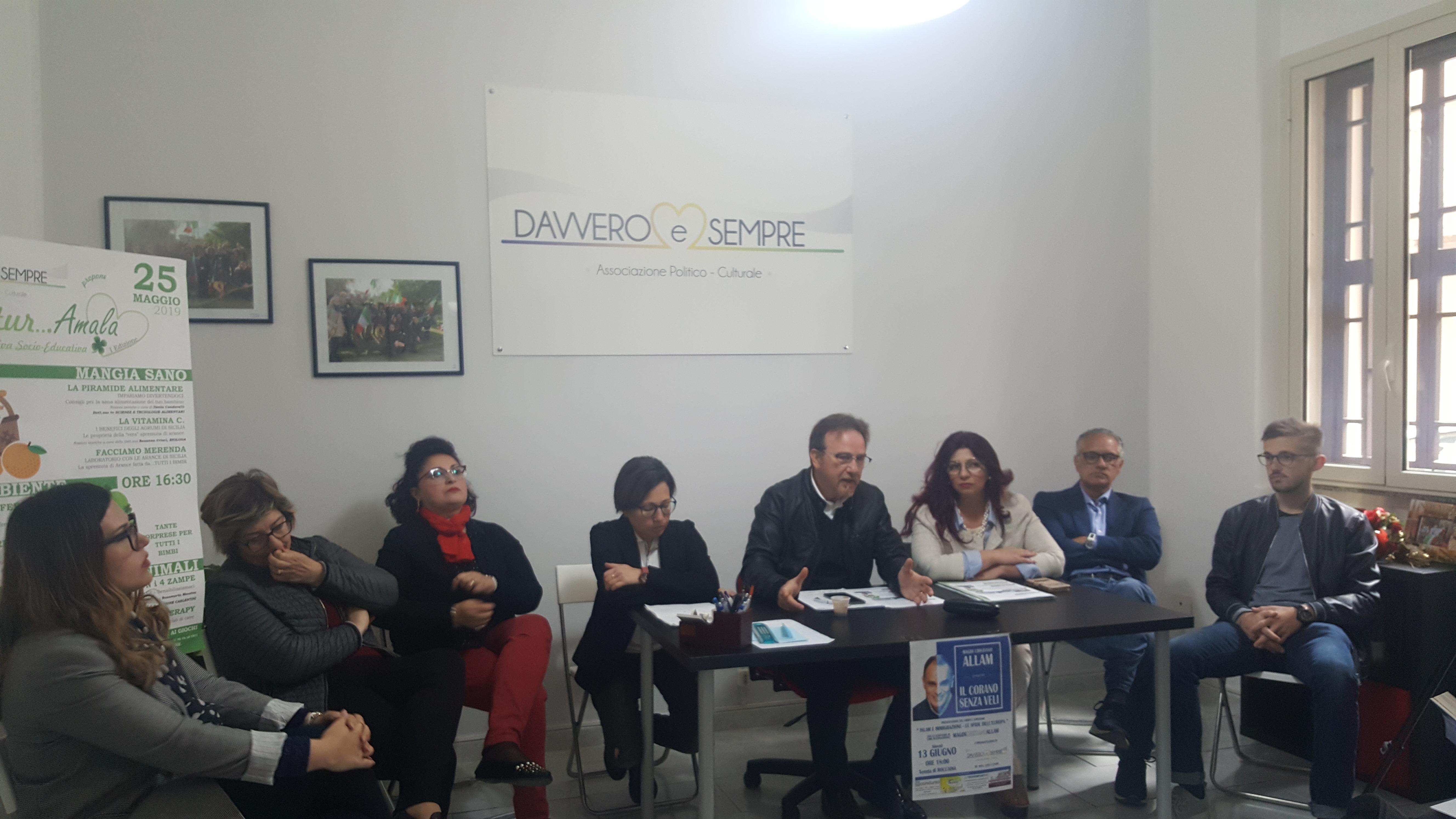 """Carlentini, L'associazione """"Davvero e Sempre"""" la minoranza dev'essere rispettata. """"Noi siamo pronti a collaborare per il bene del paese"""""""