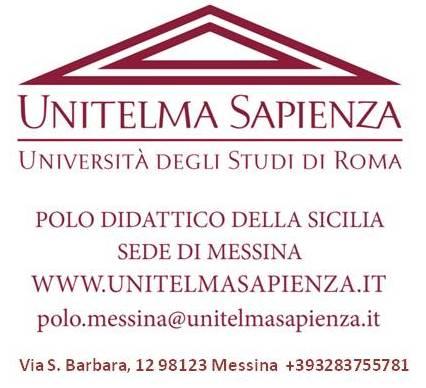 """Messina, Convenzioni con Unitelma Sapienza  """"Polo Didattico della Sicilia"""" sede di Messina"""
