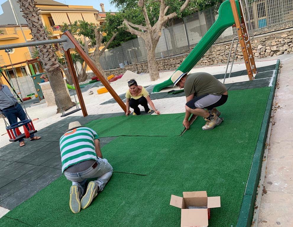 """Ispica, l parco di Matilde"""", sabato 22 giugno l'inaugurazione a Ispica  Presenti anche gli Infioratori di Noto e """"RiciCreo"""" del Comune di Ferla"""