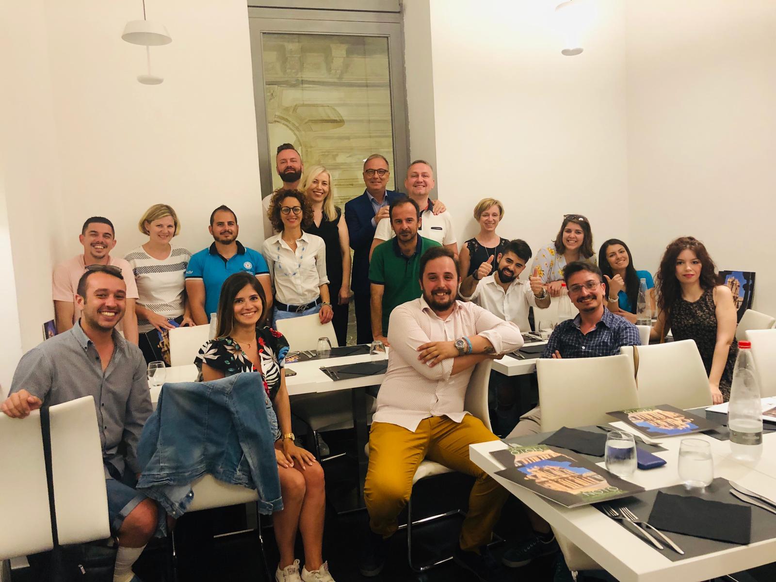 Conclusa a Noto la tappa italiana del progetto Yourope