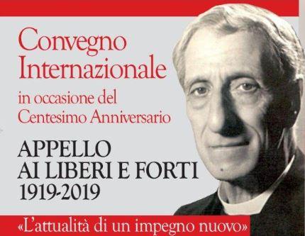 Caltagirone,  dal 14 al 16  giugno convegno internazionale nel centenario dell'appello ai Liberi e Forti di don Luigi Sturzo.