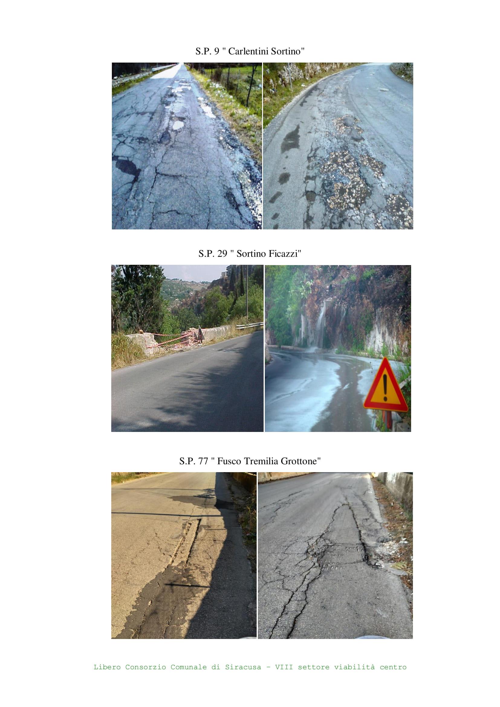 Siracusa, Ingente finanziamento per il ripristino della viabilità provinciale