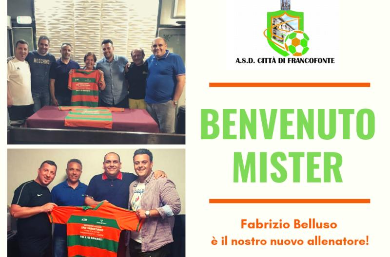 Città di Francofonte. Ufficiale: Fabrizio Belluso è il nuovo allenatore della squadra
