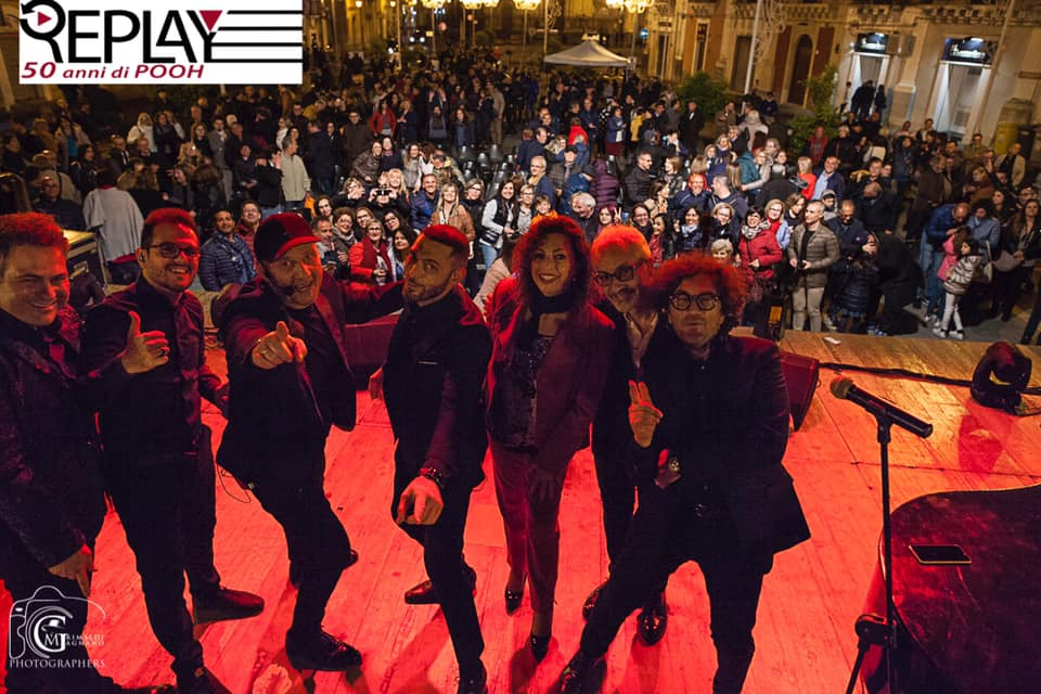 Francofonte, I Replay, stasera, alle 21,30, in piazza Garibaldi, chiuderanno i festeggiamenti in onore di San Sebastiano