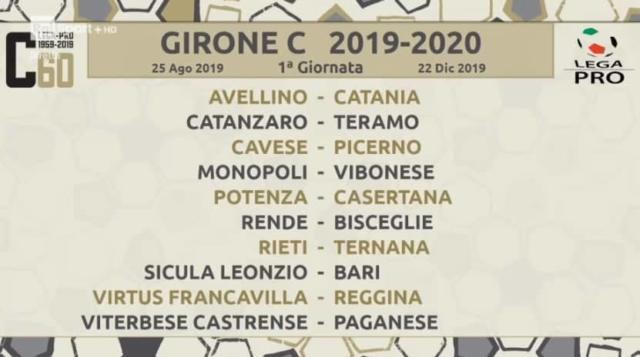 Calendario Lega Pro Girone C.Sicula Leonzio Calendario Della Serie C 2019 20 L Esordio