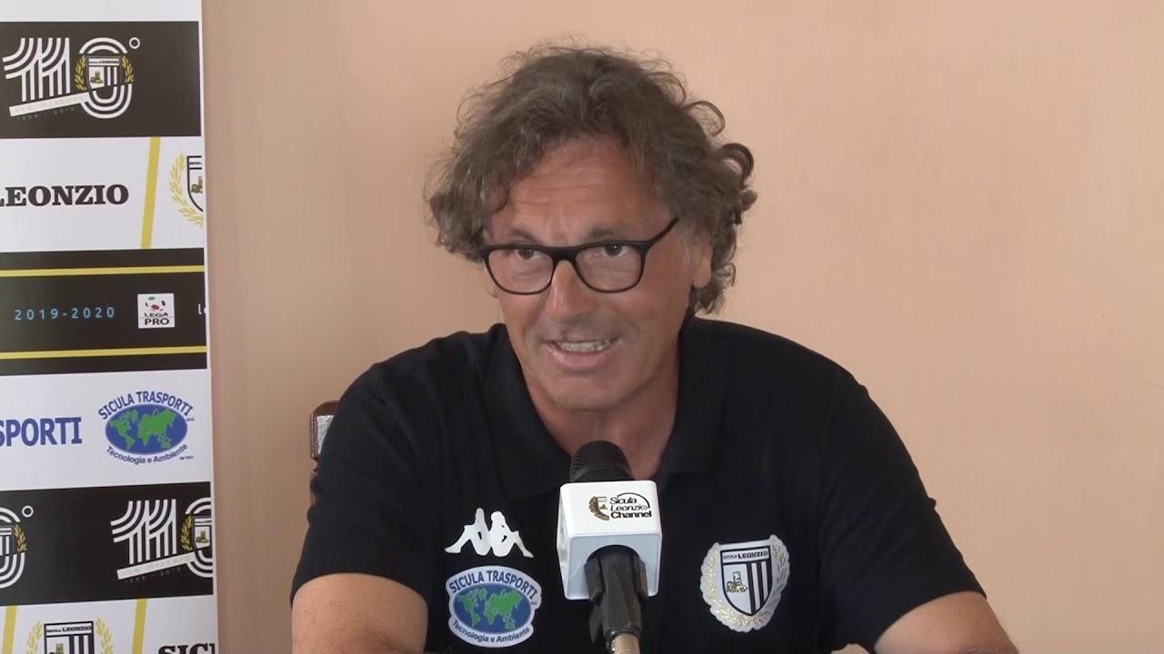 Zafferana Etnea, le dichiarazioni dell'allenatore della Sicula Leonzio, Vito Grieco