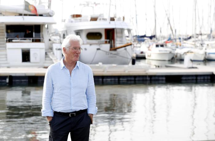 Lampedusa, Richard Gere sull'isola  per Open Arms