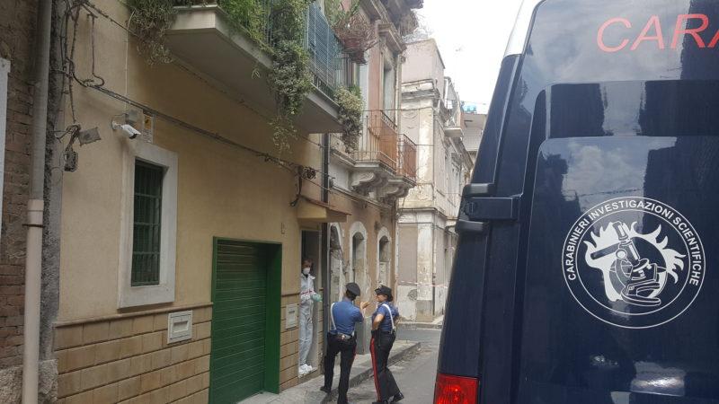 Il Giallo del cadavere di Carlentini, i Ris in azione in una casa di via degli operai a Lentini