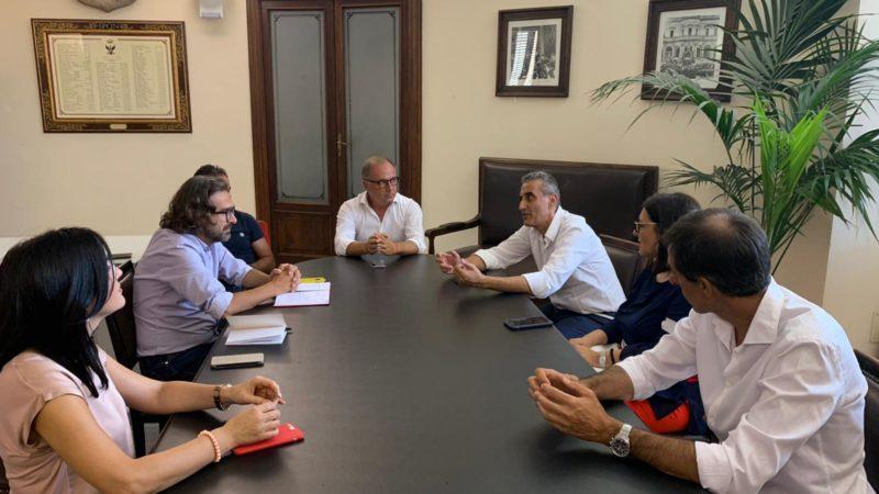 Noto, Palazzo Ducezio, il sindaco Bonfanti incontra i dirigenti scolastici