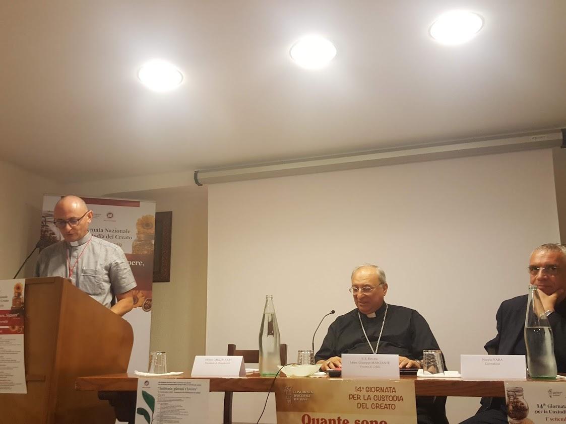 """Cefalù, Don Bruno Bignami (CEI): """"Coltivare la biodiversità è un dono oltre che un dovere"""""""
