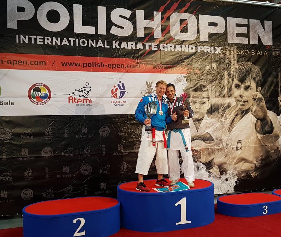 Polish Open WKF 2019: doppio oro per la Pkt Clemenza di Scordia