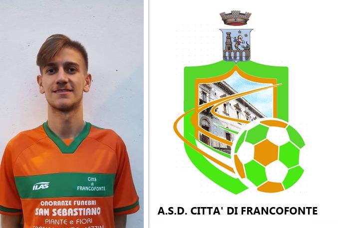 """Il Città di Francofonte vince a Ragusa. Saggio: """"Contento per il primo gol di stagione"""""""