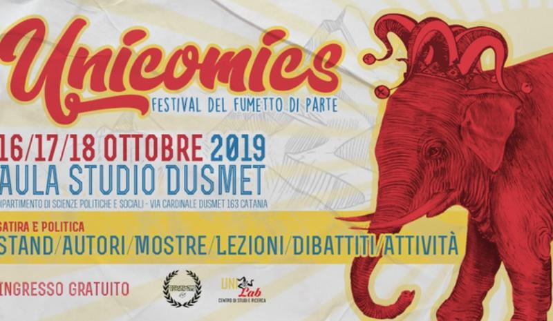"""""""Unicomics"""", a Catania appuntamento con il festival del fumetto di parte"""
