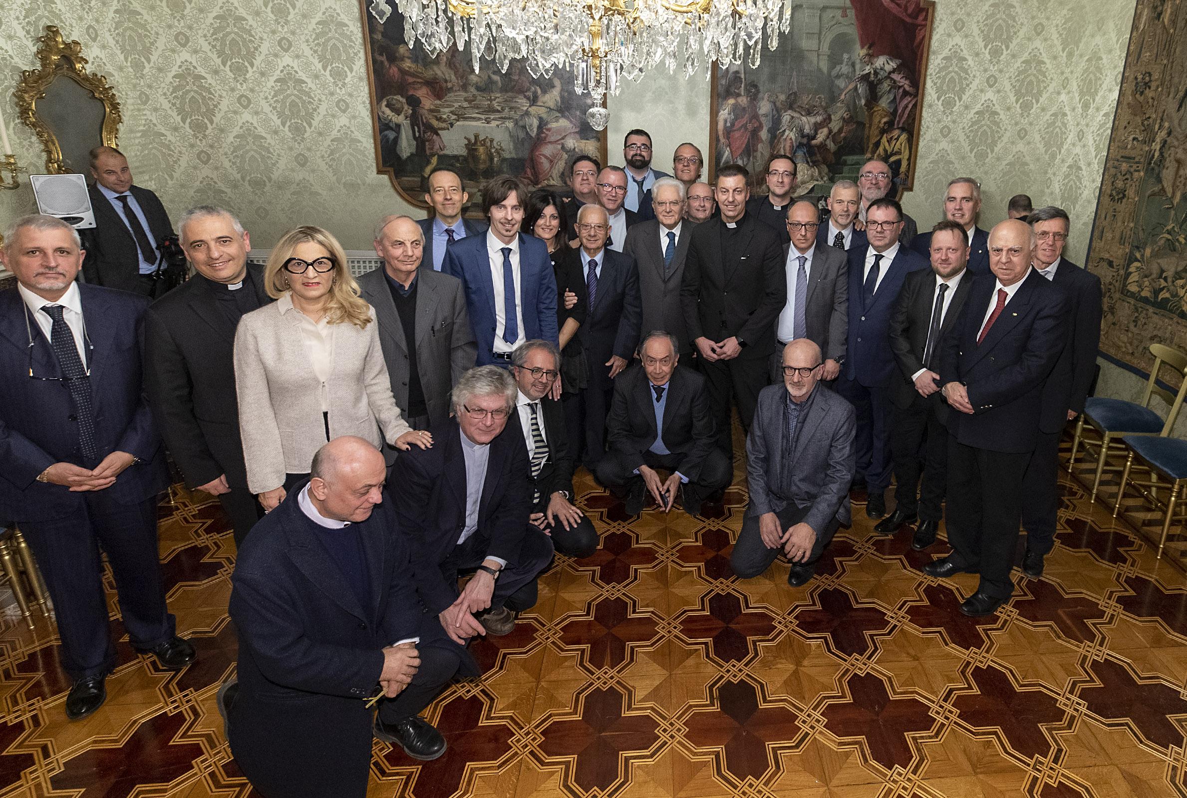 Settimanali cattolici, Mattarella alla Fisc: «Stimolate nei concittadini capacità critica e senso di comunità»