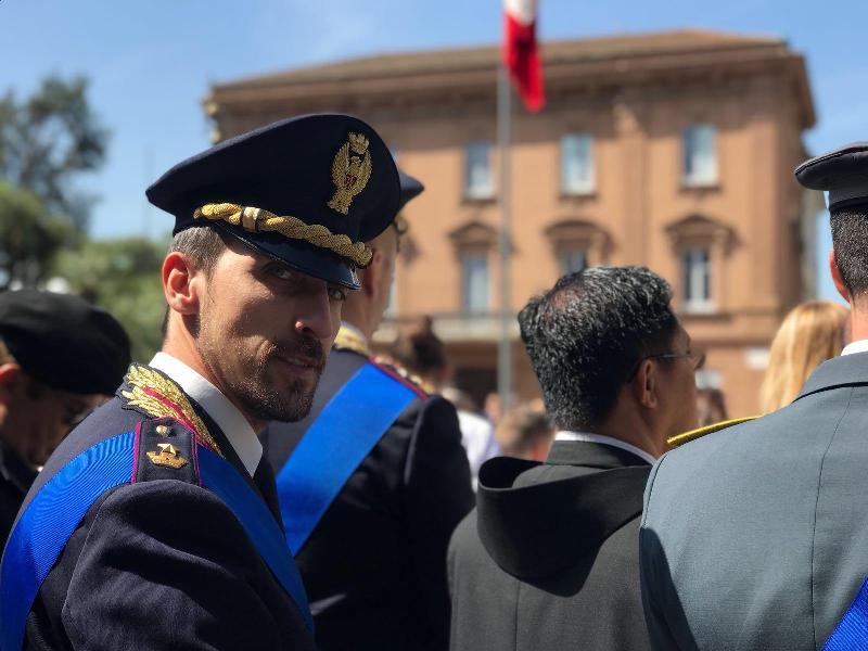 """""""Una Voce In Blu"""": il dottor Andrea Monaco, dirigente del Commissariato di PS di Lentini, ospite della puntata di martedì"""
