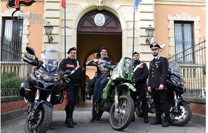 Catana, Trovata dai carabinieri la moto rubata a Logar