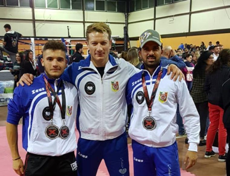 Tappa Nazionale Kick Boxing XFC: 3 medaglie d'argento per la PKT Clemenza di Scordia