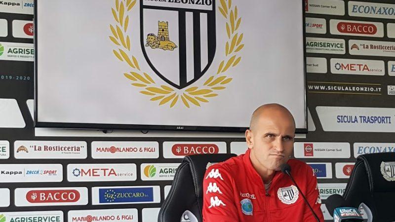 """Lentini, Catania – Sicula Leonzio, il derby siciliano. l'allenatore Bucaro: """"Dobbiamo fare di tutto per portare più punti possibili a casa"""""""