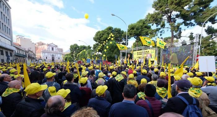 Palermo, Coldiretti, 20mila in piazza