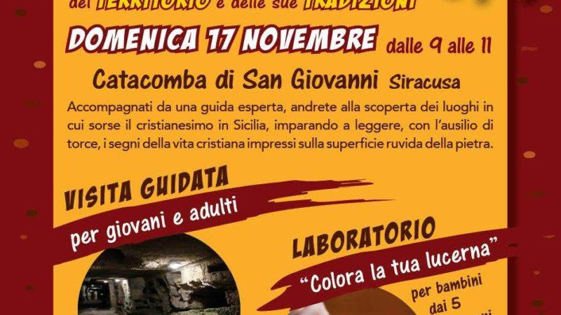 """Siracusa, Dal """"Buio alla luce"""" alla catacomba di San Giovanni. Iniziativa promossa da Kairos"""