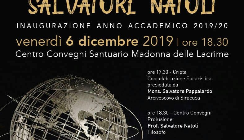 "Siracusa,  Inaugurazione a.a. Istituto ""San Metodio"""