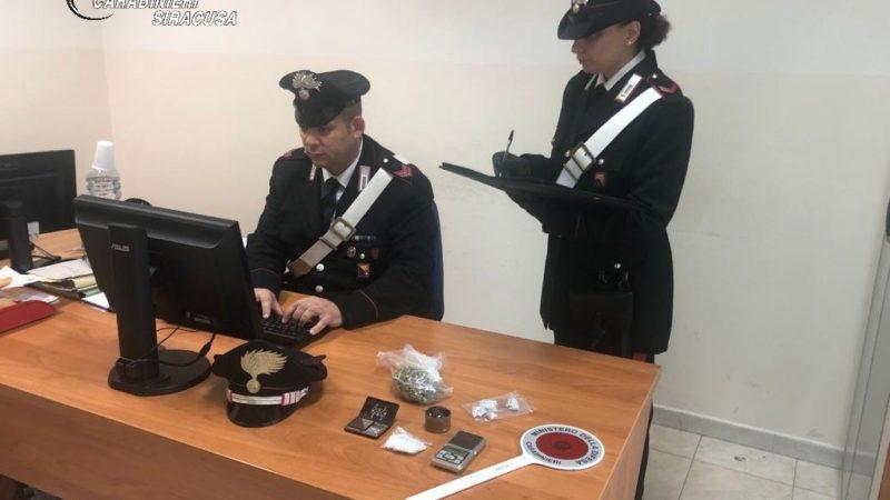 Carlentini, il cane Ivan fiuta la droga: arrestato in flagranza dai carabinieri un diciannovenne, denunciato il padre come assuntore