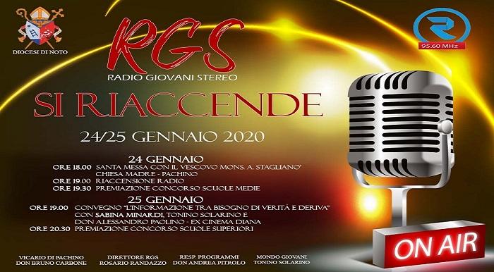 Pachino, si riaccende, per San Francesco di Sales, Radio Giovani