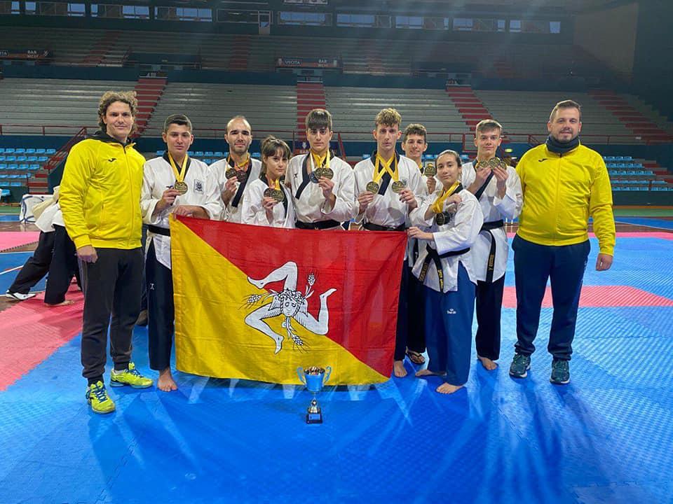 Taekwondo. La Sicilia brilla alla Technic Cup 2020