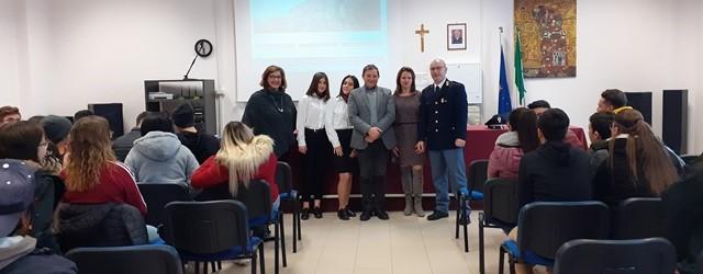 """Lentini, educazione alla Legalità: La Polizia incontra gli alunni dell'Istituto Alberghiero """"Moncada"""""""