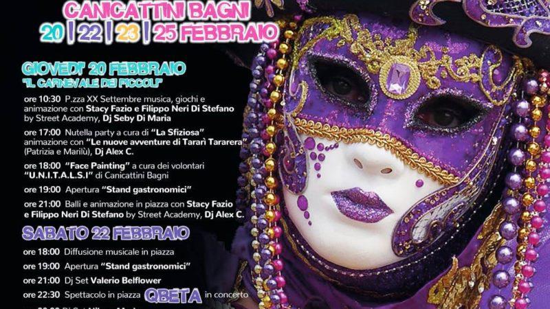 CARNEVALE CANICATTINESE 2020 Dal 20 al 25 Febbraio 2020 in Piazza XX Settembre tanto divertimento con  Musica, Balli, Animazione, Sfilate, Premi e Gastronomia