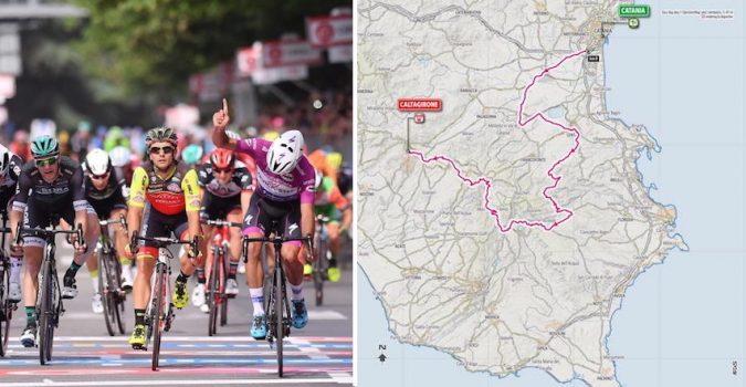 Siracusa, ciclismo, Giro d'Italia: prima tappa  Siracusa-Licata passando per Cassibile e Avola