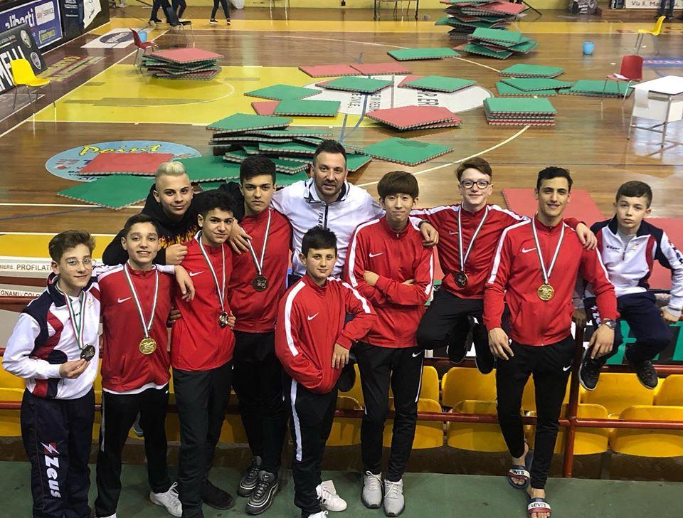 Taekwondo. Campionato Regionale 2020, medaglie per l'A.s.d. Chisari Tkd Dojang