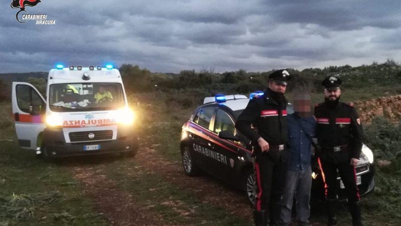 Scomparso nelle campagne di Melilli, ritrovato 30enne