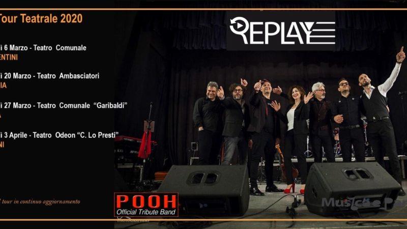 Lentini, I Replay, la band siciliana, Official Tribute Band Pooh, ripartono con un nuovo tour. Prima tappa a Carlentini il 6 Marzo Teatro Comunale