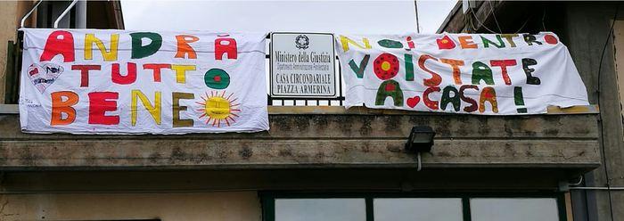 Piazza Armerina, Coronavirus: colletta detenuti a Protezione Civile