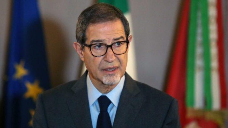 Palermo, Il Presidente della Regione Nello Musumeci, disinnescare bomba sociale
