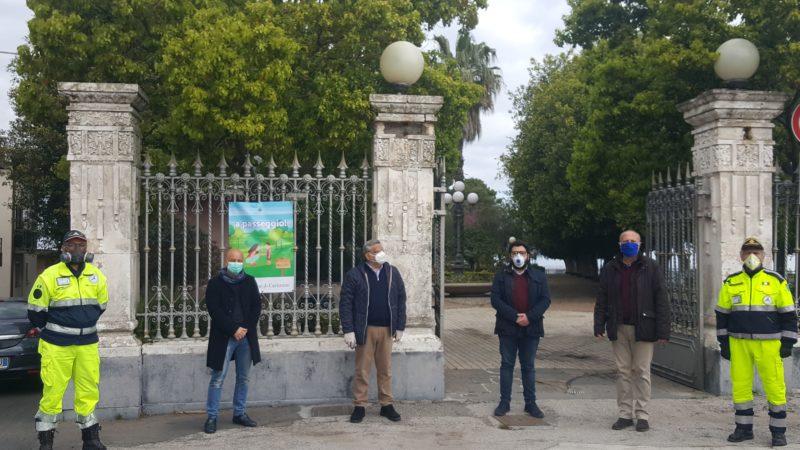 """Coronavirus, Comune di Carlentini mette a disposizione delle persone con autismo e diversamente abili villa """"Belvedere""""."""