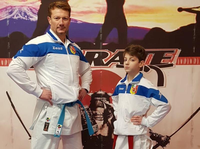 E – Tournaments Karate WKF: 1 Oro e 1 Bronzo per la PKT Clemenza di Scordia
