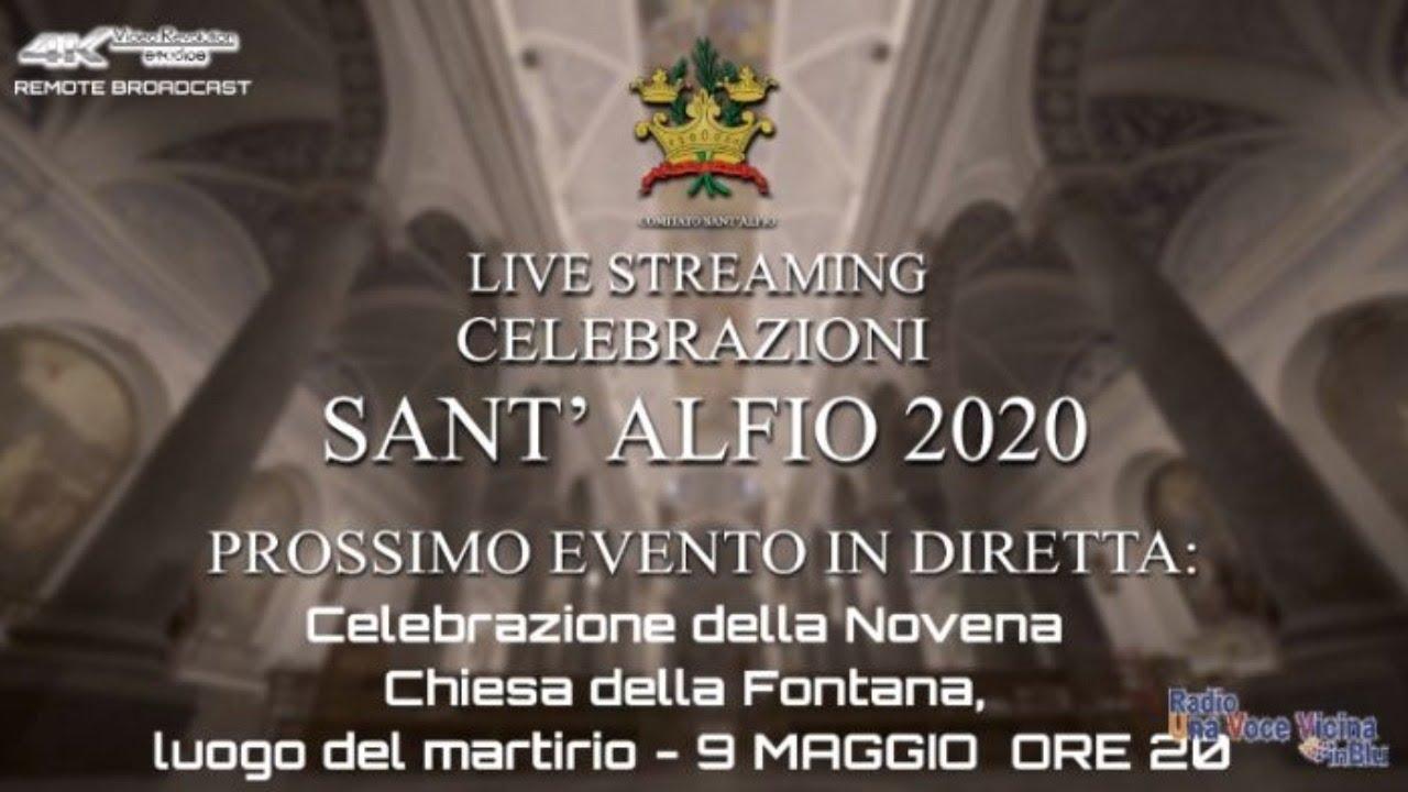 Celebrazioni S.Alfio 2020 – La Novena