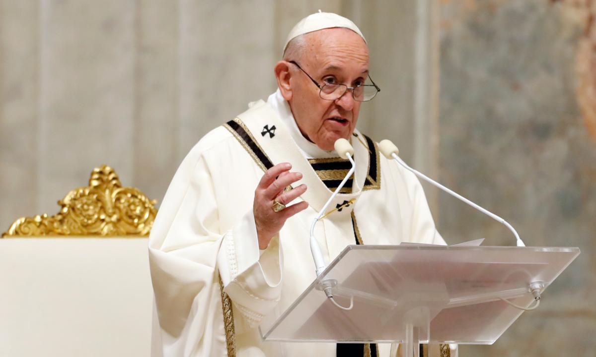 """Immigrazione, il Papa ricorda la cerimonia di oggi ad Augusta e dice: """"basta indifferenza"""""""