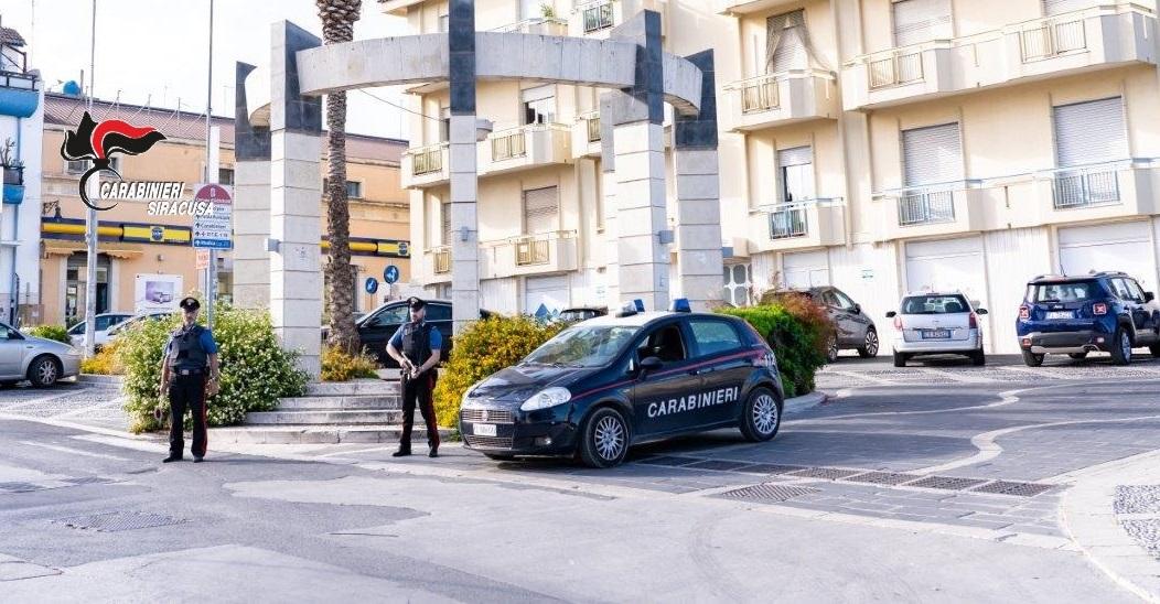Rosolini, rubano carrube, arrestato dai carabinieri