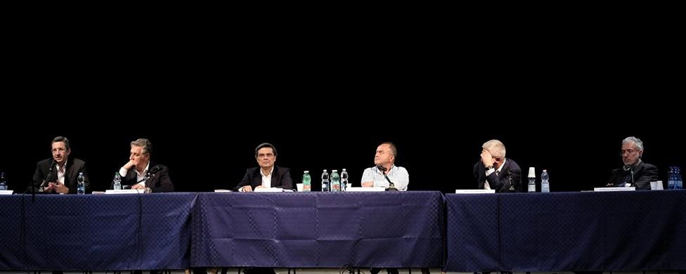 """Catania, Il consigliere del Csm Sebastiano Ardita ha raccontato nel libro: """"Cosa nostra SpA"""": atti e fenomeni non solo di mafia, guerre di mafia ma anche di politica, infiltrazioni, collusioni, disillusioni"""