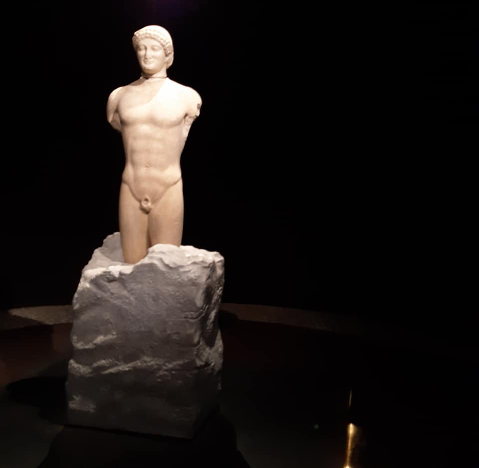 Siracusa, Il Kouros di Leontinoi parte per Atene