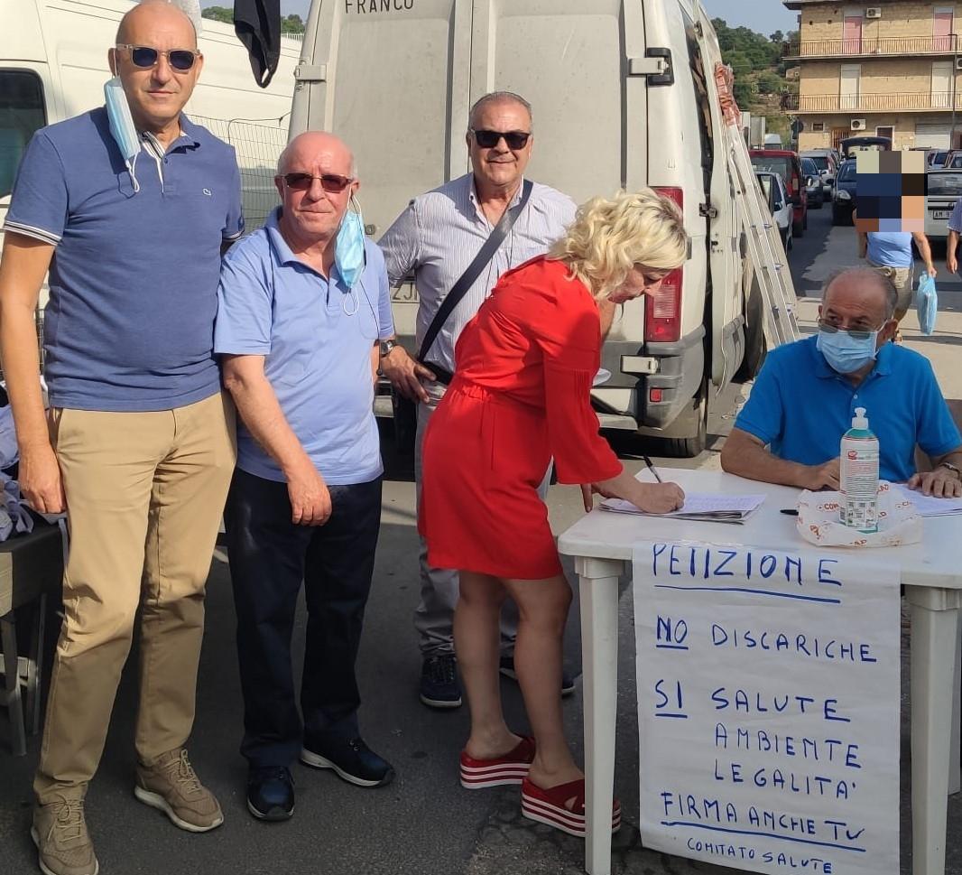 Francofonte. Petizione popolare contro le discariche nel territorio di Lentini