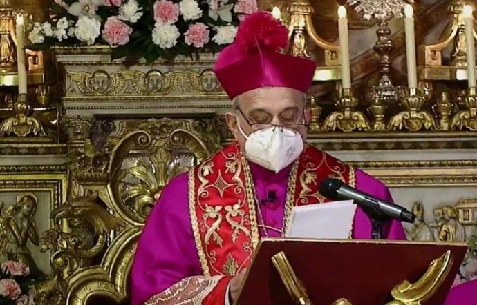 Covid: Arcidiocesi Catania, mons. Salvatore Gristina, presidente della CeSi, positivo al virus
