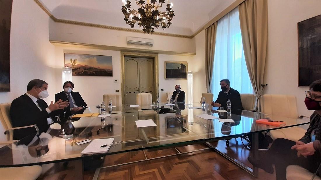 Palermo, Turismo: Musumeci e Messina incontrano vertici compagnia aerea Ego Airways