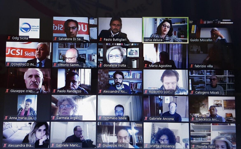 """Ucsi Sicilia, """"Pandemie mediali: i media ai tempi del Covid 19"""", un corso per la formazione dei giornalisti. Organizzato da OdgSicilia e Cong"""