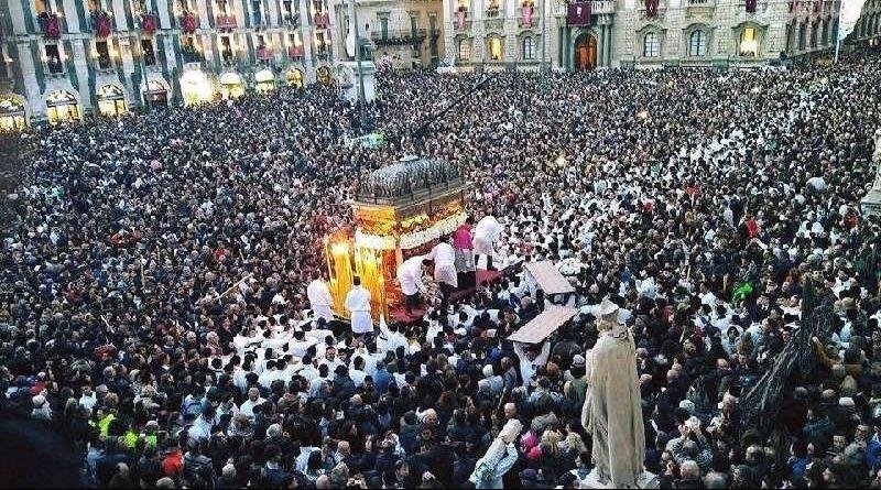 Catania, Covid Sant'Agata, domani, pontificale in cattedrale