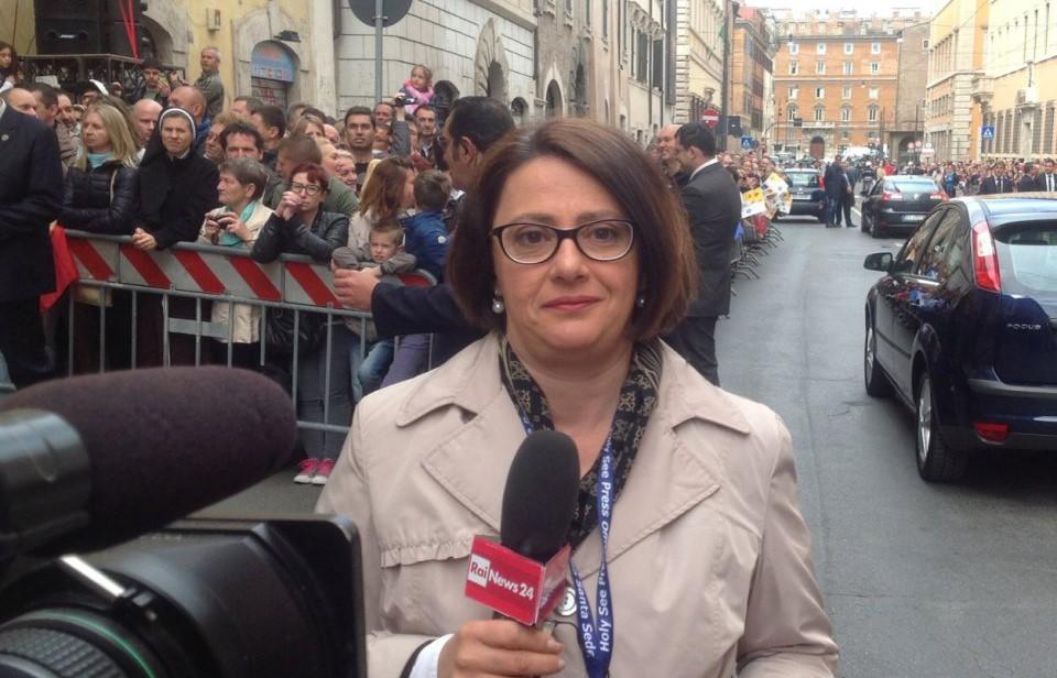 Roma, Vania De Luca nuova vaticanista del Tg3