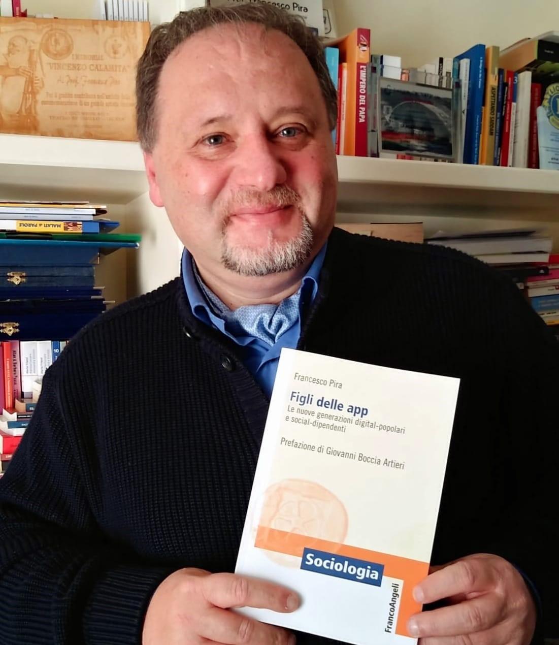 Avola, domani, alle 18.30, presso antico Mercato, la presentazione del libro Figli delle App del sociologo Francesco Pira